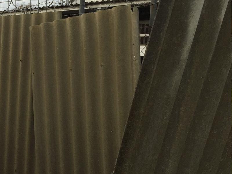 asbestos fencing panels